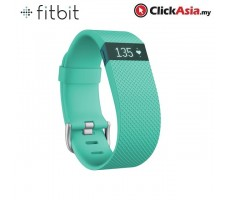 Fitbit Charge HR - Heart Rate + Activity WristBand - Teal (Small - FB405TES)