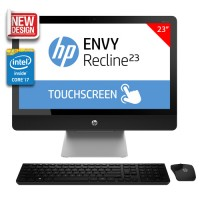 "HP ENVY Recline 23-k316d Touchsmart All-in-One Desktop PC - 23""/ i7-4790T/ 16GB/ 1TB/ NV GeForce 830/ Win8.1 (Silver) + FREE HP Wireless Keyboard & Mouse"