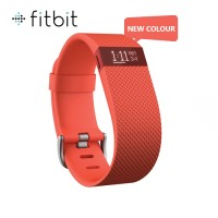 Fitbit Charge HR Wireless Activity + Sleep Wristband Small - (Tangerine)