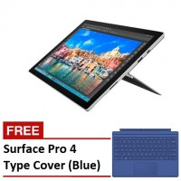 Microsoft Surface Pro 4 - Core M3 / 4GB / 128GB  + FREE Type Cover (Blue)