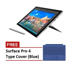 Microsoft Surface Pro 4 - Core i5 / 4GB / 128GB + FREE Type Cover (Blue)