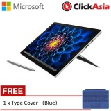 Microsoft Surface Pro 4 - Core i5 / 8GB / 256GB + FREE Type Cover (Blue)
