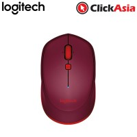 Logitech M337 Bluetooth Mouse -  Red