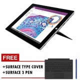 Microsoft Surface 3 - 64GB  / Win 10 (7G5-00022) +  Type Cover (Black) + Surface Pen