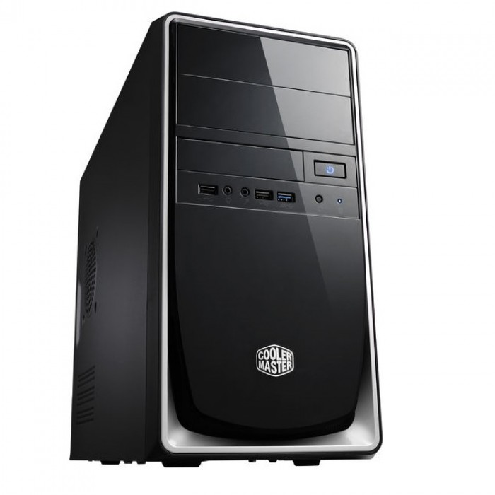 Cooler Master Elite 344 Mini Tower Chassis Silver Rc