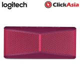 Logitech X300 Bluetooth Mobile Wireless Stereo Speaker - Red