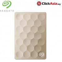 Seagate Backup Plus 2TB Ultra Slim HDD - Gold (STEH2000301)