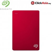 Seagate Backup Plus 2TB Portable Drive - Red (STDR2000303)