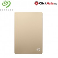 Seagate Backup Plus 2TB Portable Drive - Gold (STDR2000307)