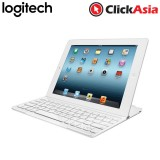 Logitech Ultrathin Keyboard Cover for iPad2 and iPad3 - White (920-004730)