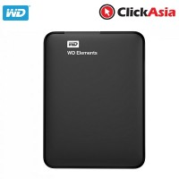 WD Element 750GB External Hard Disk - Black (WDBUZG7500ABK)