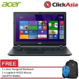 "Acer Aspire ES 15 (ES1-533-C24Q) - 15.6"" HD LED / Celeron N3350 / 4GB DDR3 / 500GB / Integrated / W10 (Black) FREE Logitech m170"