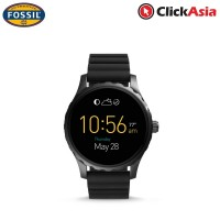 Fossil Q Marshal Smartwatch - Black Silicone (FTW2107)