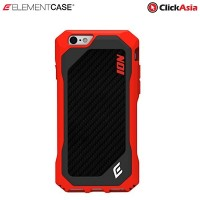Element ION 6 Case for iPhone 6 (Sunrise Red w/Carbon Fiber)