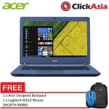 "Acer Aspire ES 14 (ES1-432-P8HQ) - 14"" HD LED /Celeron N4200 / 4GB DDR3L / 500GB / Integrated / W10 (Blue)"