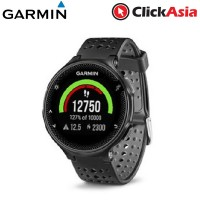 Garmin Forerunner 235 with Built-in Heart Rate Monitor - Black/Grey (010-03717-6G)
