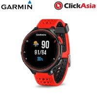 Garmin Forerunner 235 with Built-in Heart Rate Monitor - Red/Black (010-03717-6E)