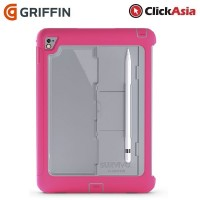 Griffin Survivor Slim Case For iPad Pro - Pink / Grey (GB41876)