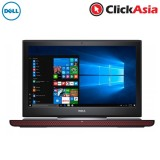 "Dell Inspiron 15 7567-30454GTi-W10 15.6"" FHD Laptop Red (i5-7300HQ, 4GB, 128GB + 500GB, GTX1050 Ti 4GB, W10H)"