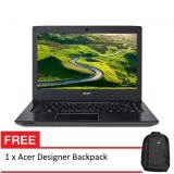 "Acer Aspire E15 (E5-575G-58F1) - 15.6"" FHD / i5-7200U / 4GB / 2TB / NV 940MX / W10 (Steel Gray)"