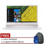 Acer Swift 5 (SF514-51-51J6) 14 FHD/ i5 7200/4G/256SD/W10 (White)