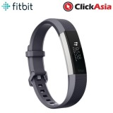 Fitbit Alta HR Fitness Watch Blue Gray - Large (FB408SGYL)