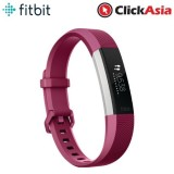 Fitbit Alta HR Fitness Watch Plum – Large (FB408SPML)