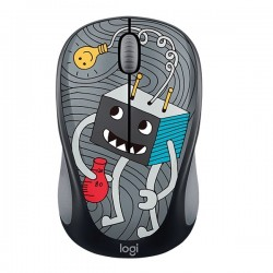 Logitech M238 Doodle Collection Wireless Mouse - lightbulb (910-005057)