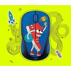 Logitech M238 Doodle Collection Wireless Mouse - Sneaker Head (910-005058)