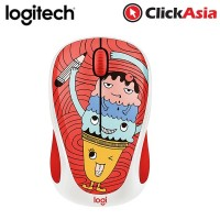 Logitech M238 Doodle Collection Wireless Mouse - Triple Scoop  (910-005059)