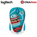 Logitech M238 Doodle Collection Wireless Mouse - Skateburger (910-005060)