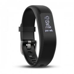 Garmin vivosmart 3 Smart Activity Tracker w/ Heart Rate (Large)(Black)