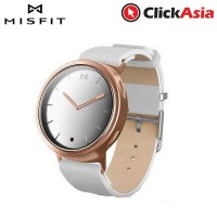Misfit Phase - Rose Gold and White Leather
