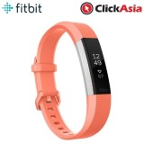 Fitbit Alta HR Fitness Watch Coral – Large (FB408SCRL)