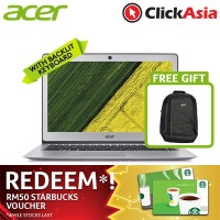 "Acer Swift 1 (SF113-31-P8AJ) 13.3"" FHD / Pentium® N4200 / Integrated / 4GB DDR3L / 128GB SSD / W10 (Sparkly Silver)"