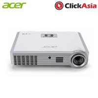 Acer K335 WXGA Portable Projector (MR.JG711.005- White) + FREE Portable Screen (5M.PRO01.009) & UWA3 USB WIFI (MC.JG811.00E)