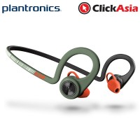 Plantronics Backbeat Fit Sports Wireless Bluetooth Headset (Stealth Green)
