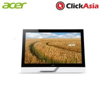 "Acer T272HL Touch Screen LED Monitor (DVI+HDMI+DP+USB) - 27"" WQHD (UM.HT2SS.004 - Black)"