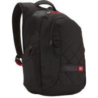 "Case Logic Sporty Polyester 16"" Backpack DLBP-116 (Black)"