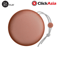 B&O BeoPlay A1 Portable Bluetooth Speaker - Tangerine Red