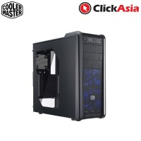 Cooler Master 590 III Mid Tower Chassis - Red LED (RC-593-KWN3)