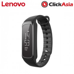 Lenovo G03 Fitness Tracker Heart Rate Band ( Activity, Sleep, Swimming )