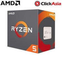 AMD Ryzen 5 1400 3.4GHz (4-Core/8-Thread) With Wraith Stealth 65W Cooler