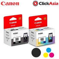 Canon PG-88 Black Ink + Canon CL 98 Colour Ink