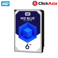 WD Caviar Blue 6TB Internal Hard Drive - 5400RPM (WD60EZRZ)