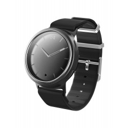 Misfit Phase - Black Silicon + (MisFit Activity Tracker-pink)
