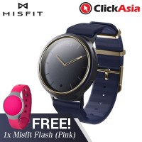 Misfit Phase - Navy-Gold and Navy Silicon + (MisFit Activity Tracker-pink)