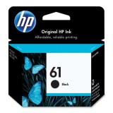 HP 61 Original Ink Cartridge (CH561WA - Black)
