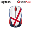 Logitech M328 Fan Edition Wireless Mouse - England (910-005407)