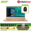 "Acer Swift 5 (SF514-52T-80DU) - 14"" FHD / i7-8550 / 8GB DDR3L / 256GB SSD / W10 (Honey Gold)"